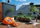 Taras na dachu z widokiem na okolic�