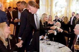 Sharon Stone, Lech Wa��sa, Jan Kulczyk