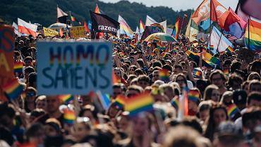 Tak przebiegał majowy Marsz Równości w Trójmieście