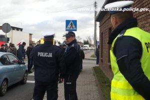 Rolnicy przez trzy godziny blokowali DK 43 w Waleńczowie