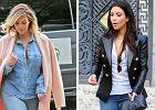 Zainspiruj się! Niebieskie jeansy w 3 różnych stylizacjach Kim Kardashian