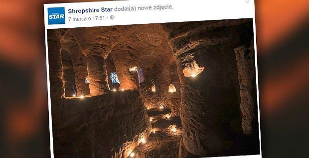 Zdjęcie numer 1 w galerii - Królicza nora okazała się tajemnym przejściem do ponad 700-letniej jaskini templariuszy [WIDEO]