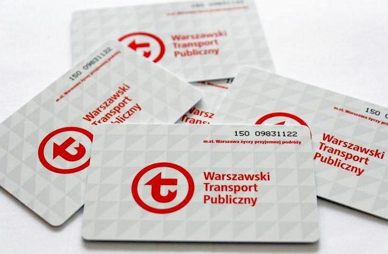 Warszawa I Bilet Metropolitalny Metro Warszawa