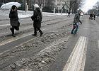 Atak zimy: 12 tys. gospodarstw bez pr�du, �lisko na drogach - zablokowana DK nr 9