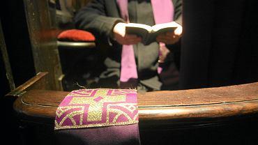 Konfesjonał (zdjęcie ilustracyjne)