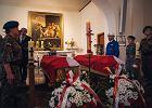 """Trumna ze szczątkami """"Inki"""" i """"Zagończyka"""" w gdańskiej kaplicy"""