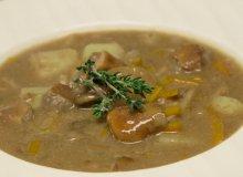 Zupa grzybowa ze śmietaną - ugotuj