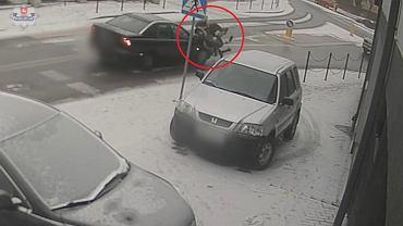 Potrącenie dwóch 16-latek w Biłgoraju