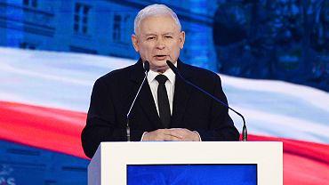 Jarosław Kaczyński wygłosił przemówienie na lubuskiej konwencji PiS
