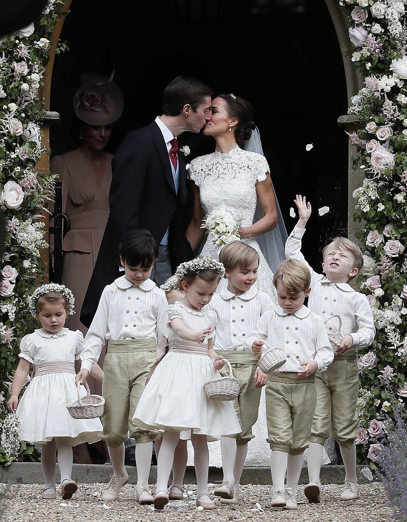 śluby Roku 2017 Wesele Pippy Middleton Kosztowało Miliony Ale