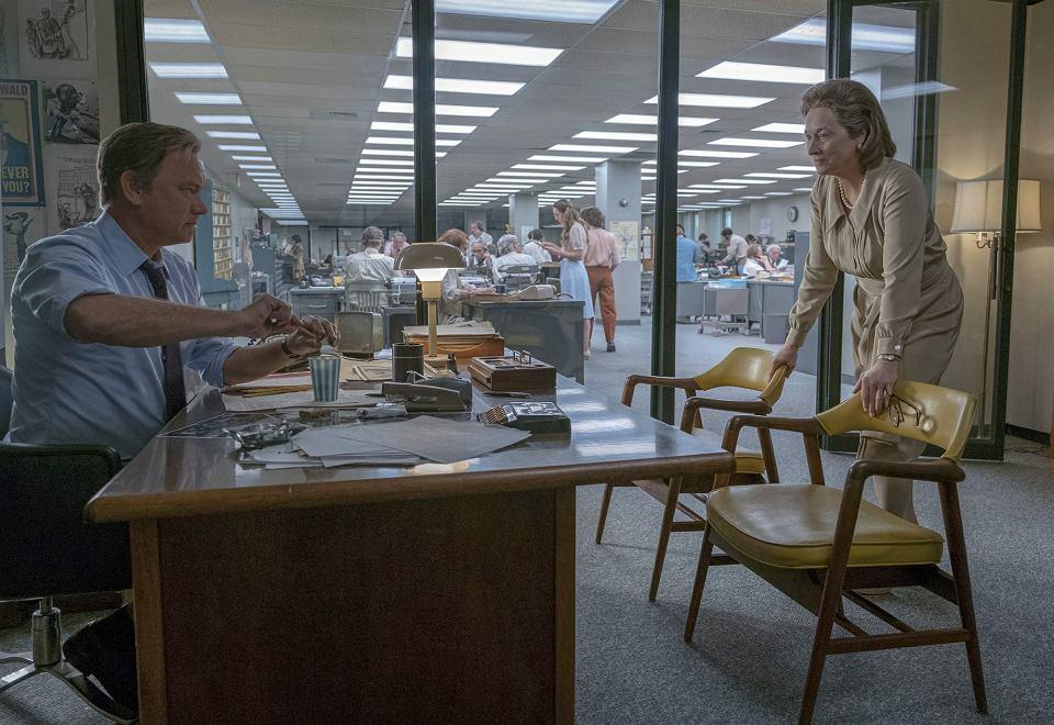 Kadr z filmu 'Czwarta władza'