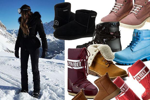 e90a65cd92 W tych butach na pewno nie zmarzniesz. Śniegowce i trapery idealne ...