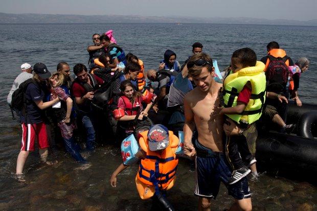 Znalezione obrazy dla zapytania uchodźcy z syrii