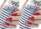 Pomys� na paznokcie: marynarski manicure