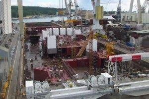 Najdroższy statek wypłynął z gdańskiej stoczni