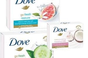 Nowe myd�a do oczyszczania twarzy DOVE