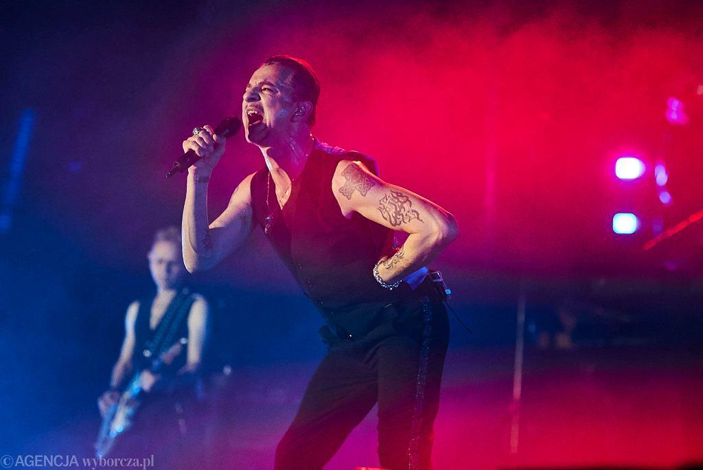 Depeche Mode podczas koncertu na Atlas Arenie w Łodzi 2018r. / Fot. Tomasz Stańczak / Agencja Gazeta