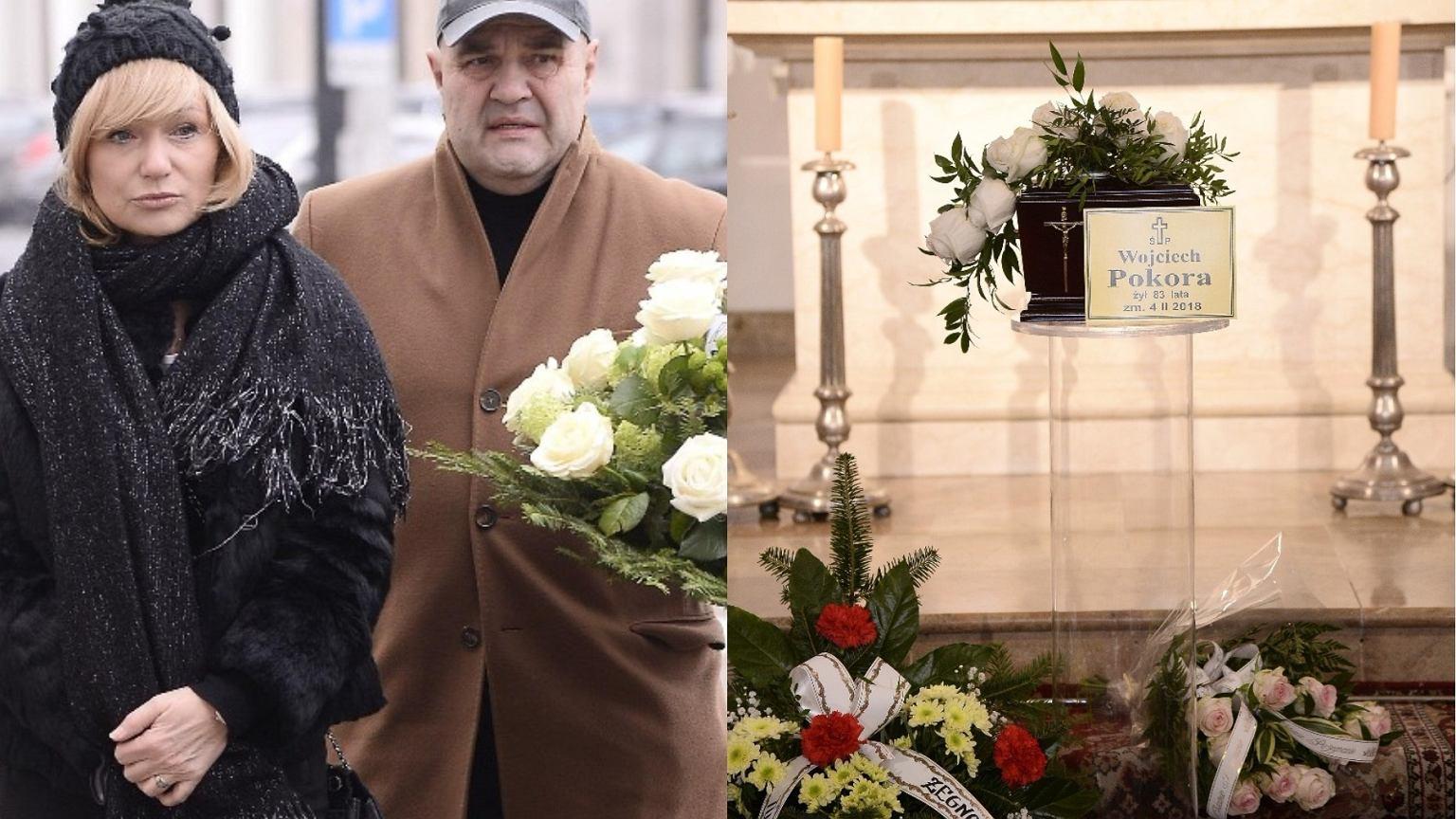 Pogrzeb Wojciecha Pokory. Mistrza żegnają m.in. Żak z żoną, Rosiewicz i Dancewicz [ZDJĘCIA]