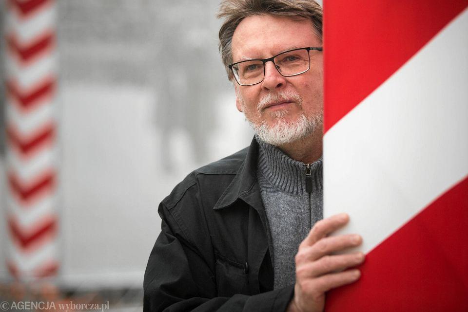 Lech Mergler ze stowarzyszenia Prawo do Miasta