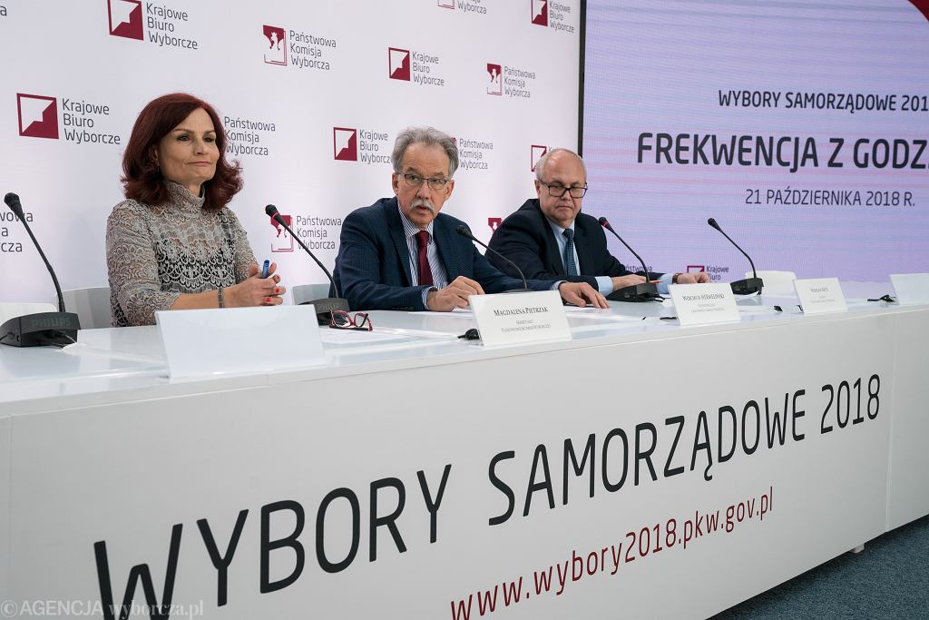 Wybory samorządowe 2018 - PKW podała ostateczne oficjalne wyniki wyborów