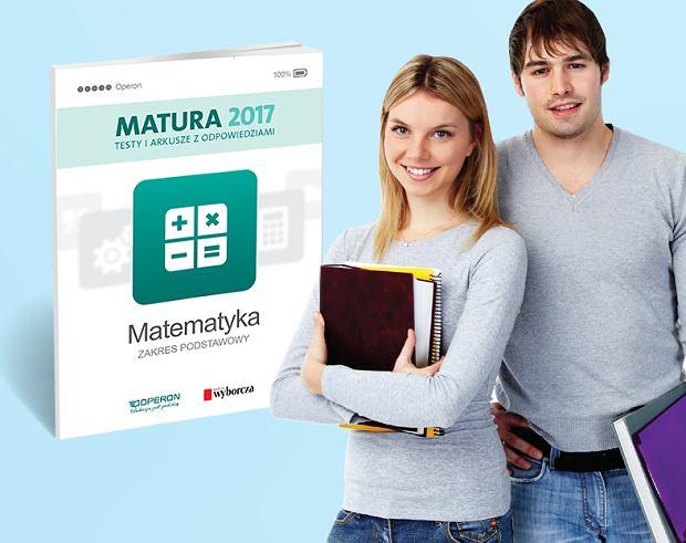 """Matura z matematyki - książka z ,,Gazetą Wyborczą"""""""