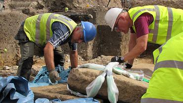 Sarkofag znaleziony w Londynie