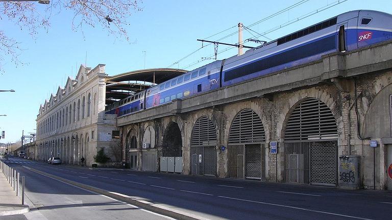 Dworzec w Nimes