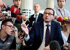 Sejm. Najpierw Duda, później Morawiecki. Politycy przyjechali do protestujących w Sejmie rodziców dzieci z niepełnosprawnościami