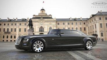Projekt nowej limuzyny dla prezydenta Rosji