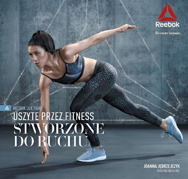 Joanna Jędrzęjczyk w najnowszej kampanii marki Reebok