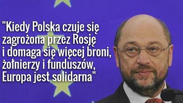 Martin Schultz, przewodniczący Parlamentu Europejskiego