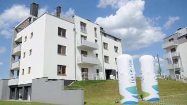 Nowe domy przy ul. Pelikana