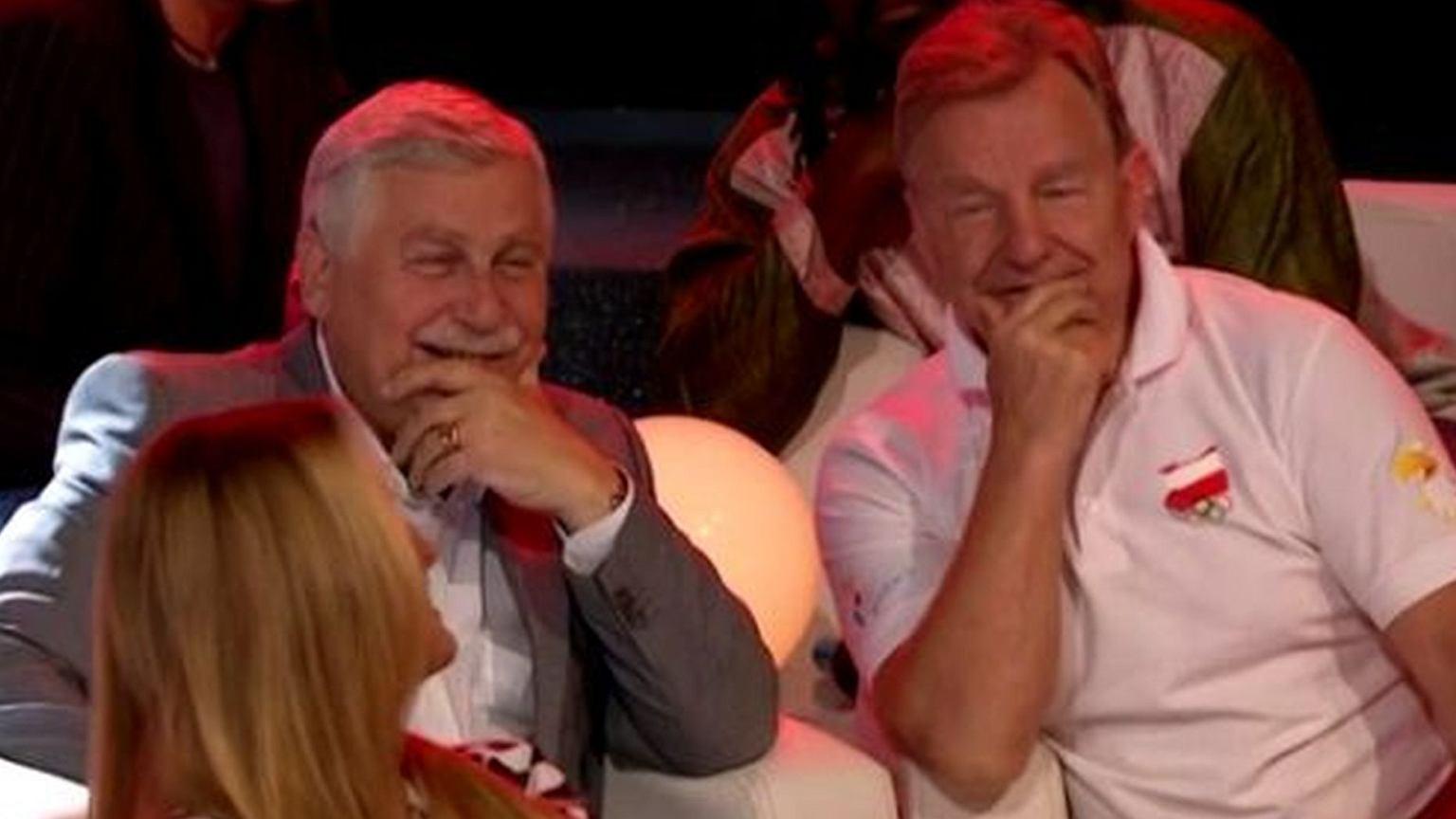 Kontrowersyjna odpowiedź Andrzeja Suprona w dyskusji o celibacie piłkarzy przed meczem. Była bardzo niesmaczna