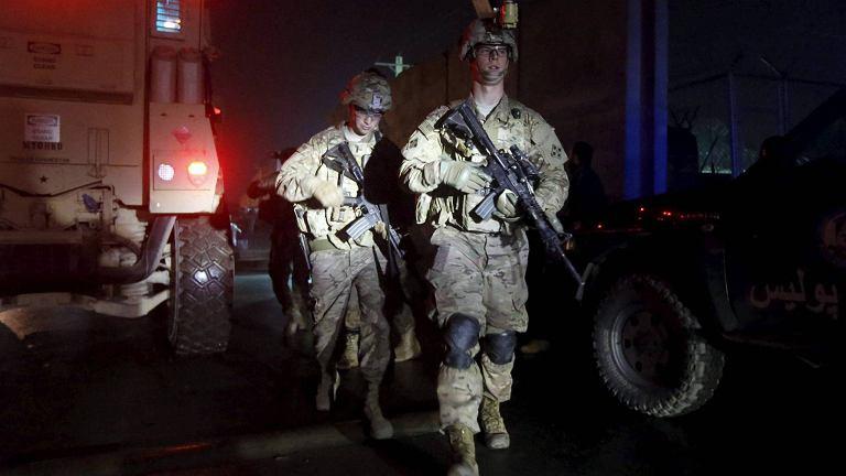 Amerykańskie siły w Afganistanie