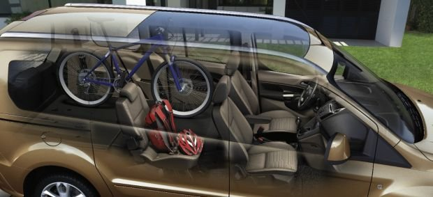 Ford Grand Tourneo Connect - inside, load