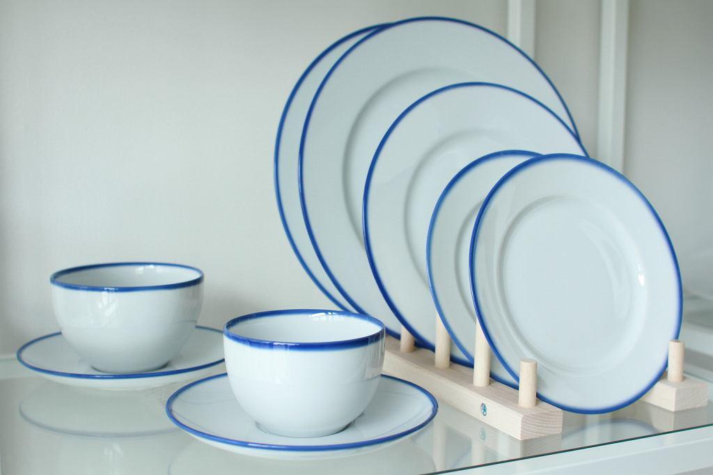 Kolekcja Blue Line - projekty Modus Design Line Marka Cecuły dla Ćmielów Design Studio (fot. dzięki uprzejmości Porcelanowa.com)