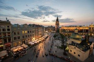 Trasy i �cie�ki rowerowe w Krakowie