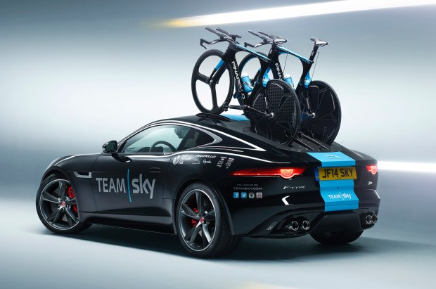 Jaguar F-Type R w wersji na Tour de France