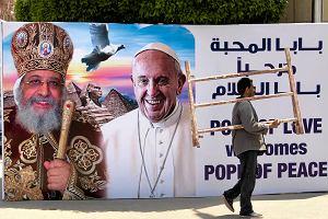 Papież Franciszek w Egipcie. To będzie jego najtrudniejsza pielgrzymka