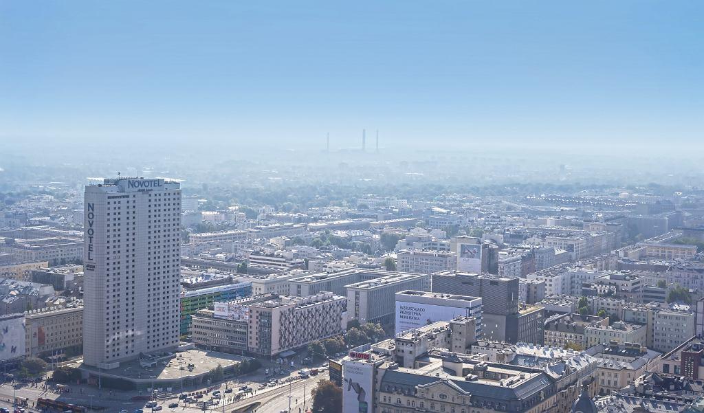 Widok Warszawy