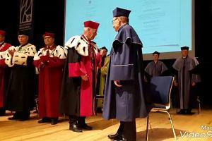 Tadeusz Ferenc doktorem honoris causa Politechniki Rzeszowskiej