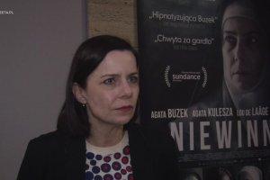 """Rozmawiamy z Agatą Kuleszą o filmie """"Niewinne"""""""