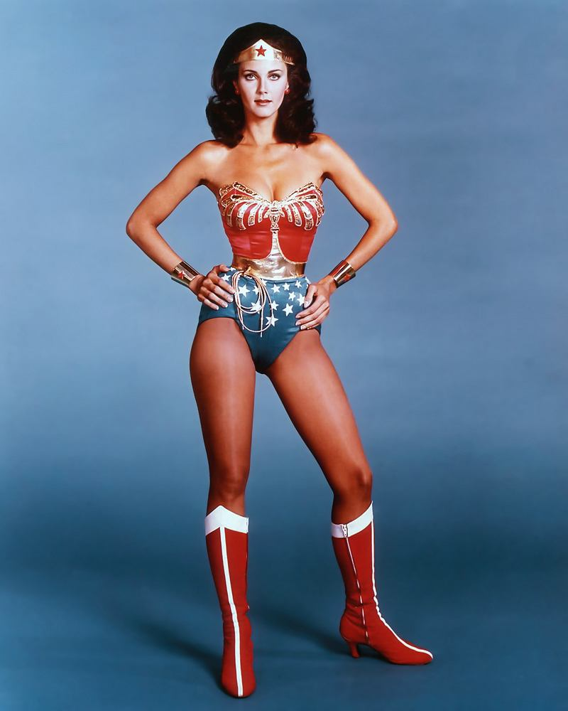 Lynda Carter jako Wonder Woman / mat. promocyjne WB