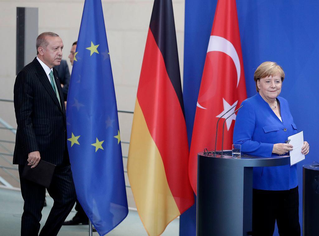 Recep Erdogan i Angela Merkel