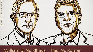 William Nordhaus i Paul Romer - laureaci Nagrody Nobla z dziedziny ekonomii 2019