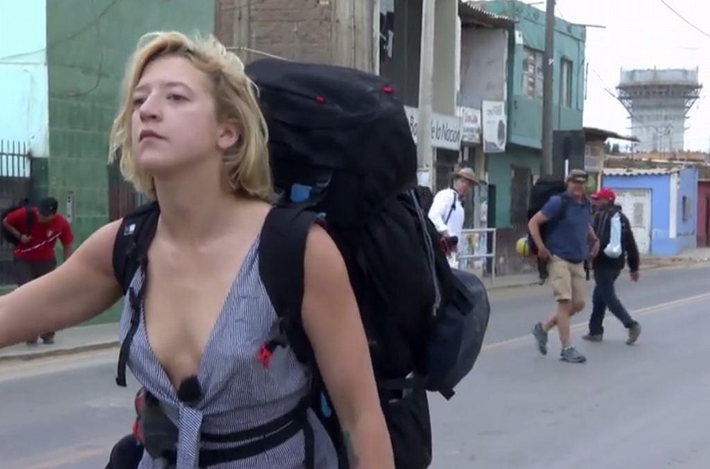 Lara Gessler w 'Ameryka Express'