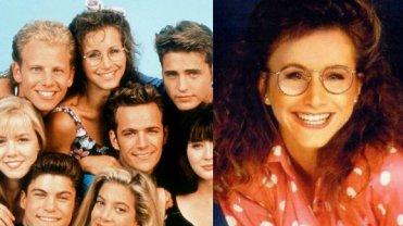 """Gabrielle Carteris grała w hitowym """"Beverly Hills 90210"""", ale jak większość członków obsady nie zrobiła zawrotnej kariery. Choć wciąż jest aktywna w zawodzie, rzadko można o niej usłyszeć. Jak dziś wygląda serialowa Andrea?"""