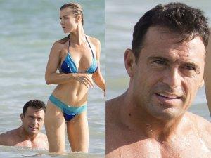 Joanna Krupa w kusym bikini odpoczywa�a na pla�y nad oceanem. Niby widok jak co dzie�, ale nas zaciekawi�a mina jej m�a. W co si� tak uwa�nie wpatrywa�? Gdy modelka si� odwr�ci�a, jego zafrapowanie sta�o si� w pe�ni zrozumia�e.