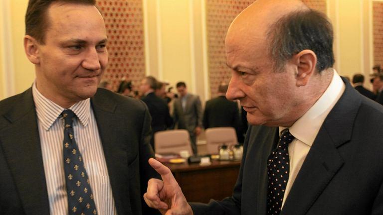 Radosław Sikorski i Jacek Rostowski
