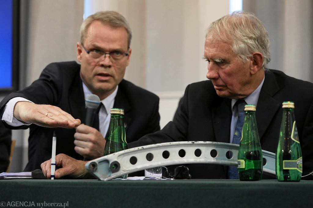 Konferencja z prezentacją raportu technicznego podkomisji Macierewicza